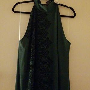 Ashley Stewart long sleeveless dress